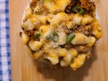 Vegan Chorizo Mac & Cheese