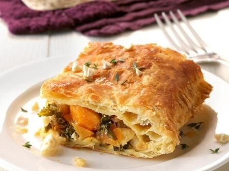 butternut kale and pistachio breakfast bake