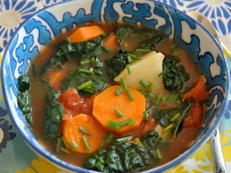 Kale Carrot Fennel Soup